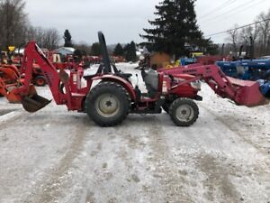 2008 Mahindra 3215 4x4 Hydro Compact Tractor Loader Backhoe Coming Soon