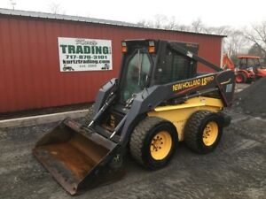 2004 New Holland Ls180 Skid Steer Loader W Cab 2 Speed Hight Flow Coming Soon