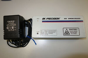 Bk Precision 850 Eprom Eraser With Power Adapter