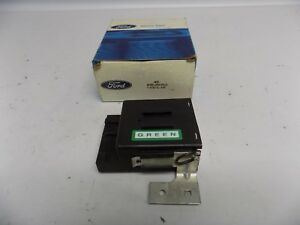 New Oem 1984 1985 Ford Escort Exp 1 6l Engine Cooling Fan Control Module Relay