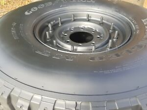 Humvee Hmmwv Wheel And Tire Assembly 80 90 Tread 37x12 50r16 5lt M998 Wheel
