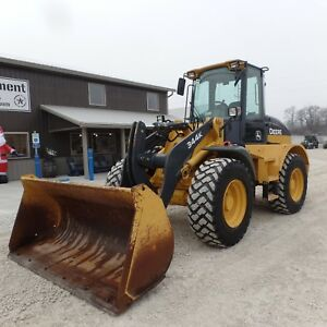 2015 John Deere 344k Wheel Loader Nice Shape Very Clean