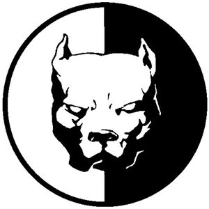 Car Decals Pitbull Super Hero Dog Vinyl Decal Sticker Car Window Bumper Wall Sp