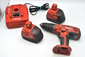 Hilti Tools Sfh 181 a Hammer Drill Driver C7 24 Charger 2 0 Ah Nicd Batteries