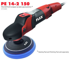 Flex Pe Buffer 14 2 150 Variable Speed Car Polisher