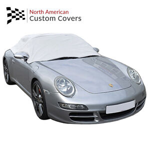 Rp232g Porsche 911 996 997 Convertible Soft Top Roof Half Cover 1999 To 2011