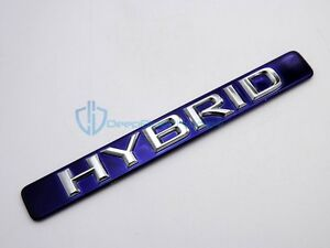 Lexus Ct200h Blue Hybrid Emblem 2011 2017 Side Door Badge Genuine Oem Nameplate