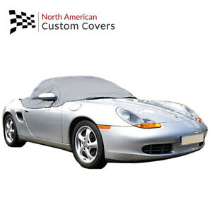 Rp145g Porsche Boxster 986 Convertible Soft Top Roof Half Cover 1996 To 2004