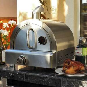 Mont Alpi Portable Propane Gas Outdoor Pizza Oven