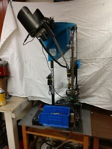 DILLON 1050 SUPER RELOADING PRESS with Forcht Electric Drive Motor (9mm)