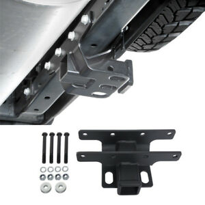 Us Stock 2 Towing Black Rear Trailer Receiver Hitch For 07 18 Jeep Wrangler Jk