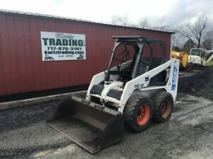 1997 Bobcat 753 Skid Steer Loader Only 2500 Hours One Owner Coming Soon
