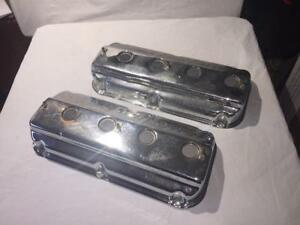 Chrysler Hemi Fire Power Valve Covers Chrome Originals