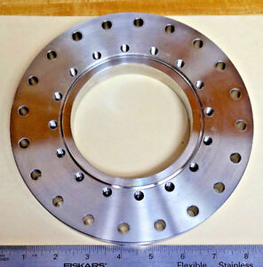 8 To 6 Conflat High Vacuum Chamber Adapter Flange Plate Stainless Steel 442074
