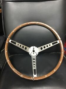 Original 1966 Ford Mustang Pony Deluxe Steering Wheel 1965