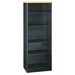 Bush Business Furniture Series A Collection 26w 5 Shelf Bookcase In Beech