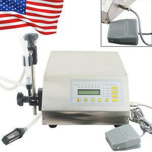 Usa Digital Control Liquid Filling Filler Machine Microcomputer Control 5 3500ml