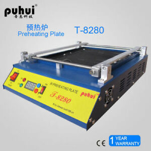 T8280 Ir Preheating Oven Pcb Preheater T 8280 Infrared Preheating Station Ce