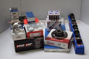 Chevy Car 235 Master Engine Kit Hydr Cam pistons bearings rings 1954 55 Powergl