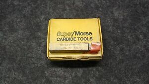 4 Morse Cutting Tools Al 10 Ms5 Tip Turning Tool Bits 5 8 X 4 Edp 70233 Nos