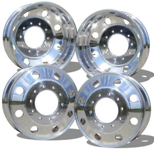 4 19 5x6 Ram 4500 5500 Wheel Northstar Polished alcoa Style 10 Lug Brand New