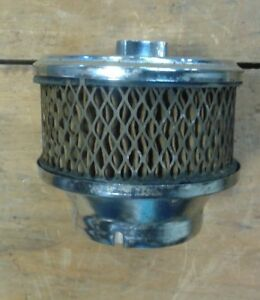 Small Street Rod Rat Rod Air Cleaner Assembly 2 1 2 Throat 3 3 4 Element