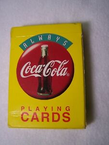 Vintage Coca Cola Playing Cards 1994