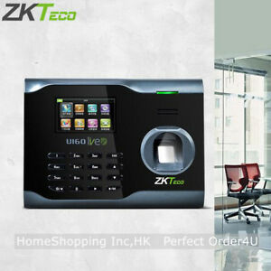 Zkteco Fingerprint Time Attendance Wifi Fingerprint Time Clock U160 Tcp ip Usb