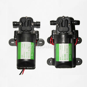 Micro Diaphragm Water Pump Self priming Booster Pump Automatic Switch Dp 521