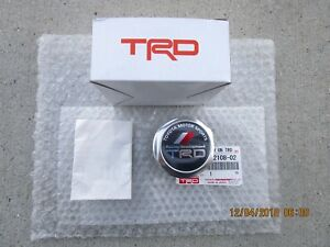 Fits 00 12 Toyota Tundra Trd Performance Oil Filler Cap Japan Version New