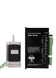 Us Stock 1axis Brushless Nema17 42blf03 78w 24v 4000rpm Driver Bldc 8015a Cnc