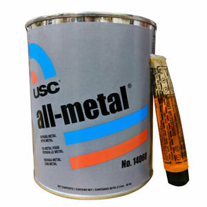 Body Filler Usc All Metal Aluminum Filled Auto Body Filler Quart 14060