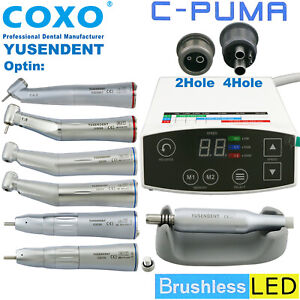 Coxo Dental Led Electric Mini Micro Motor C Puma Fiber Optic 1 1 1 5 Handpiece