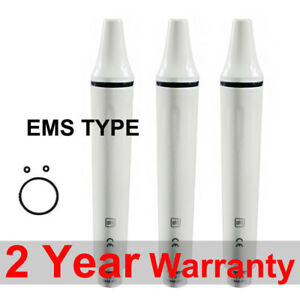 3pc Dental Piezo Ultrasonic Scaler Fiber Optic Handpiece Ems Woodpecker Type Tip