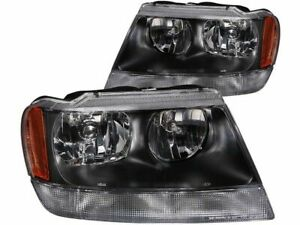 Headlight Set For 1999 2004 Jeep Grand Cherokee 2001 2000 2003 2002 H625pp
