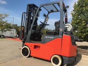 2012 Toyota Lpg propane 3500 Pound Budget Forklift we Will Ship lift Load 15 Ft