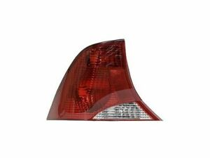 Left Driver Side Tail Light Assembly For 2000 2003 Ford Focus 2001 2002 P685gv