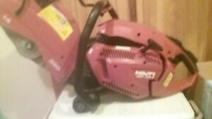 Hilti Dsh 700 x 14 In Hand Held Gas Concrete Saw