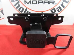 Jeep Wrangler Jl Trailer Tow Hitch Receiver Class 2 New Oem Mopar