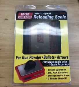 MTM Case-Gard Mini Digital Reloading Scale 4 Gun PowderBullets&Arrows 750d w.1