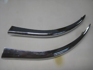 Last Listing 1948 To1950 Packard Chrome Chrome Grille Trim Replated Showing Age