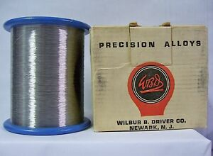 35 189 Ft Of Nichrome c Resistant Wire 37 Awg 0 0044 33 33 Ohm ft nos
