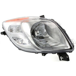 Fits 07 08 Toyota Yaris 2 Door Hatchback Halogen Headlight Passenger Side