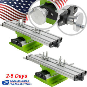 2xpro Milling Machine Compound Work Table Cross Slide Bench Drill Press Vise Fda