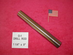 1 1 4 X 9 Drill Rod 0 1 Tool Steel Precision Ground 1 250 Machinist