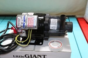 Little Giant Mag Magnetic Drive Highly Corrosive Chemical Resistant Pump 110v Ac
