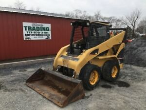 2006 Caterpillar 262b Skid Steer Loader Needs Work Read Description