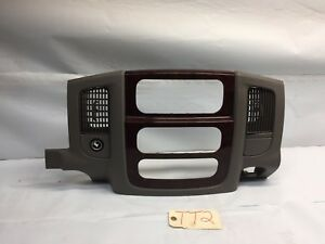 2003 2005 Dodge Ram Dash Bezel Gauge Surround Trim Stock Tt2