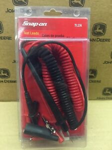 Snap On Test Leads Tl2a Dmm Dvom Bluepoint Fluke