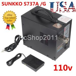 Us Handheld Sunkko 737g 737a Battery Spot Welder With Pulse Current Display